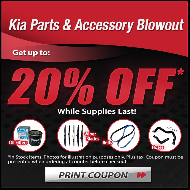 20 percent off parts and accessories coupon