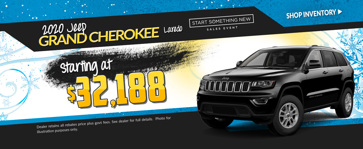 2019 Jeep Grand Cherokee - Lease for $291 per month